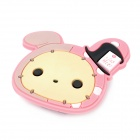 JD-1026 Cute Rabbit Style Earphone Cable Management Clip - Pink