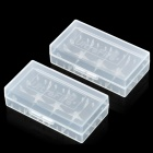 UltraFire 2*18650/4*CR123A Battery Protective Case (2-Pack)