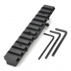 D008 Aluminum Alloy Extension Gun Rail Mount for Barrett M98 / OTs-03AS - Black