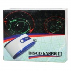 Portable Dapper Stage Red/Green Laser Light Show - Blue + White (2 x AAA)