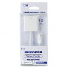 CY DP-010 Mini DisplayPort to VGA Connection Cable - White