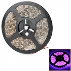 72W 2800lm 300-5050 SMD LED Purple-pink Light Waterproof Flexible Decoration Lamp Strip (5m / 12V)