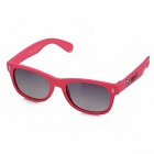 Sale No. 2006 Grey Resin Polarized Lens Sunglasses Goggles for Children - Pink Frame