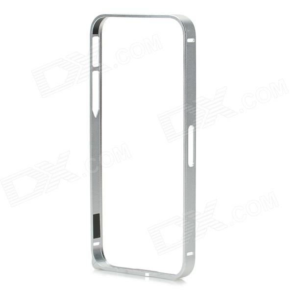 Ultra-Slim Aluminum Alloy Frame Case w/ Stylus Pen / Screwdriver for Iphone 5 - Silver