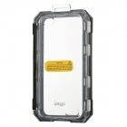 Water Resistant Plastic Full Body Case for Iphone 5 - Black