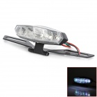 Universal Motorcycle 6W 128lm 6-LED Red + White Light Tail Decoration Light