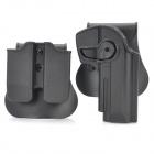 Tactical Military Gun Pistol Holster + Bullet Cartridge Holder for PX4 - Black