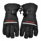 Winter Warm Full Finger Ski Gloves for Men - Black (Free Size / Pair)