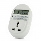 HP510 2.0&quot; LCD Screen Energy-Saving Timer Socket - White (US Plug)