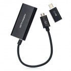 Micro USB to HDMI MHL HDTV Video Adapter for Samsung Galaxy S3 - Black