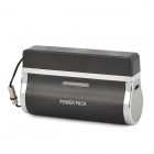 2800mAh Rechargeable Mobile External Power Battery Charger w/ USB Cable for iPhone 3 / 3GS - Black