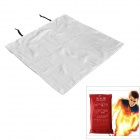Fire Blanket Emergency Survival Fire Shelter Safety Protector - White (100 x 100cm)
