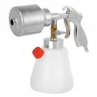 XuanJuanFen Aluminum Alloy + Plastic Car Cleaning Foam Spray Gun - Silver + White (1000lm)