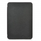 Protective PU Leather + Plastic Case for iPad Mini - Black