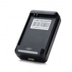 USB Battery Charger for Samsung Galaxy SIII Mini i8190 - Black (2-Flat-Pin Plug / 100~240V)