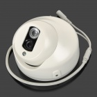 "XUYING TS-8798H-BAIS-NTSC 1/3"" CCD Surveillance Security Camera w/ 1-IR LED Night Vision - White"