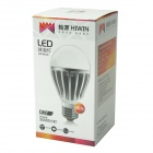 HIWIN HBL10 E27 10W 700lm 39-SMD 5630 LED White Light Bulb - Silver + White (100~240V)