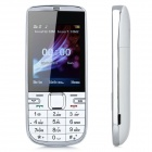 "A300 GSM Bar Phone w/ 2.4"" LCD Screen, Dual-Band, Bluetooth 2.0 and Dual-SIM - White"