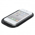 Anti-Slip Silicone Pad for Mobile Phone - Black