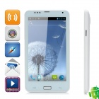 "N7103 Android 4,1 WCDMA Bar Phone w / 6,0 ""kapazitiven Bildschirm, Wi-Fi, GPS und 8.0MP Kamera - White"