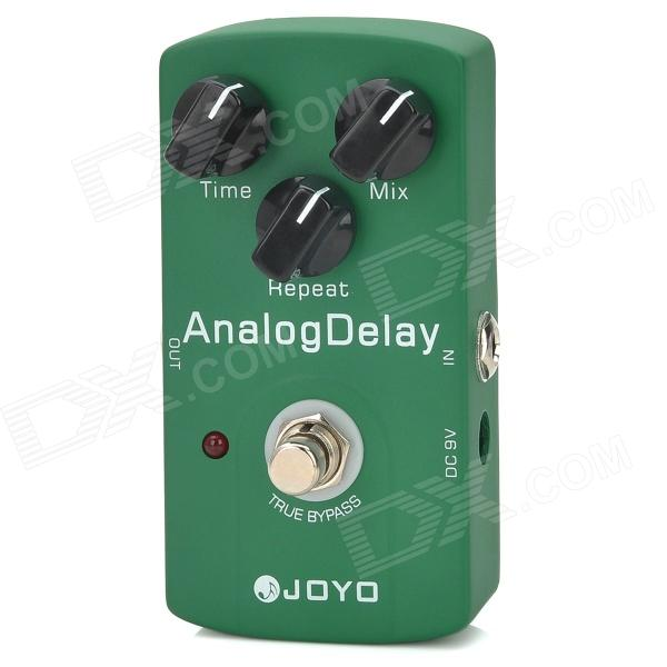 JOYO JF-33 Analog Delay Echo Pedal True Bypass - Green valeton cs 10 comopressor guitar effect pedal 100% analog signal path effects for electric guitar low noise level buffer bypass
