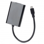 CY MH-022 Micro USB MHL to VGA Adapter Cable for Samsung i9100 / i9250 / i9220 - Black