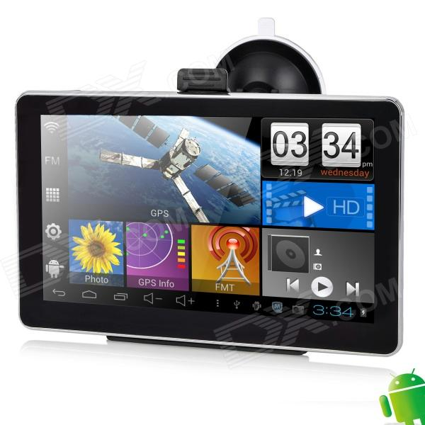 "M6026AV 7"" Resistive Screen Android 4.0 GPS Navigator w/ AV-In / 8GB RAM / TF / Australia Map"