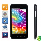 "B792 MT6577 1GHz Dual-Core Android 4.0 Smartphone WCDMA w / 4,3 ""IPS, Wi-Fi, GPS und Dual-SIM - Black"