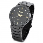 Feiwo  Casual Lady's Analog Quartz Wrist Watch - Black (1 x 377)