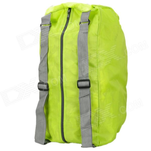 Multifunction Folding Backpack / Shoulder Bag / Cross Bag - Green