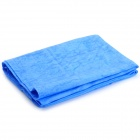 PVA Chamois Car / Pet / House Cleaning Towel Cloth - Blue