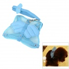 1128 Cute Angel Wings Dog Vest w/ Leash - Blue (Size L)