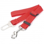 SXH-cw003 Adjustable Pet Cat Dog Car Safety Seat Belt Harness - Red