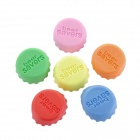 Silicone Beer Savers Bottle Sealers Covers - Multicolored (6PCS)