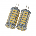 G4 3500K 510lm 102-SMD 1210 LED Warm White Light Ceiling Lamps / Crystal Lamps (2 PCS / 12V)