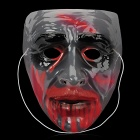 Zombie Style Scaring Themed-Party Halloween's Mask - Red + Translucent + Black