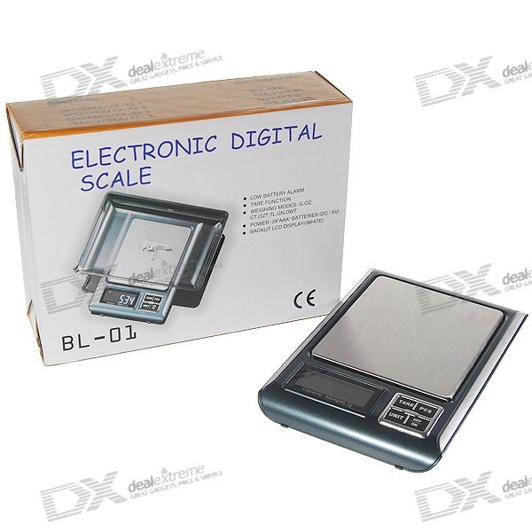 High-Load Precision Digital Scale (3KG Max / 0.1g Resolution)
