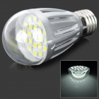 Daiwl H6008W E27 3W 350lm 6500K 21-SMD 5050 LED White Light Bulb - Silver (220V)