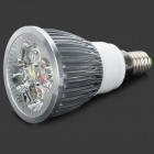 E14 4W 450lm 6500K 4-LED Cold White Light Spotlight -lamppu