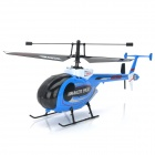 Great Wall 9938 4-CH 2.4GHz R/C Remote Controller Helicopter - Blue + Black