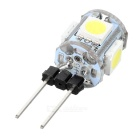 G4 0.7W 65lm 5-SMD 5050 Cool White Light Home LED Lamp