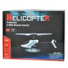 Great Wall 9928 4-CH 2.4GHz R/C Remote Controller Helicopter - Blue + White