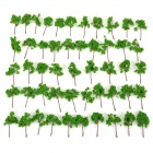 4524 Decoration Tree Models - Green (50 PCS)