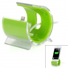 8-Pin Lightning Data / Charging Dock w / Kabel für iPhone 5 - Green