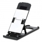 Portable 5-Angle Universal Stand Holder Support for Iphone / Ipad / Cell Phone - Black