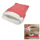 Soft Fleece + Plush Warmer Sleeping Bag fro Pet Dog / Cat Bed