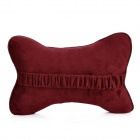CHIEF JPNJ-006 Blooming Flowers Pattern Cassia Seed Car Seat Cushion - Maroon