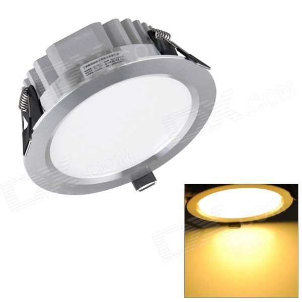 H! Win HTD695 12W 1080lm 3200K Warm White 24-SMD 5730 LED Ceiling Down Light w/ LED Driver - Silver 24x12w rgbw 4in1 aluminum led par can disco lamp stage lights luces discoteca laser beam luz de projector 24 12w led par light