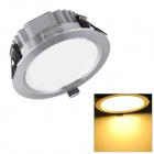 H! Win HTD695 12W 1080lm 3200K Warm White 24-SMD 5730 LED Ceiling Down Light w/ LED Driver - Silver