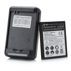 Replacement 1900mAh Dual Core Decoding Battery + Charger for Samsung Galaxy S3 Mini i8190 - Black